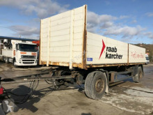 Schmitz Cargobull Baustoff Anhänger Scheibe ABS trailer used dropside flatbed