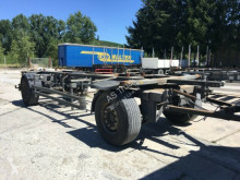 Fliegl ZWP 180 ANH BDF Bereifung 80% ABS Verzinkte Rahm trailer used chassis
