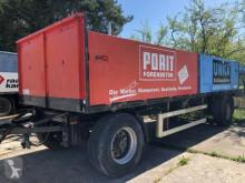 MV Baustoff Anhänger Scheibe Lehrgewicht 4200 kg trailer used dropside flatbed