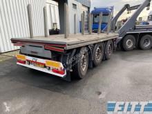 H&W ballast aanhanger, liftas, stuuras trailer used flatbed