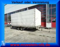 Humbaur Tandemplanenanhänger trailer used tarp