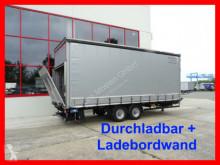 Möslein Tandem- Planenanhänger, Durchladbar + LBW trailer used tarp
