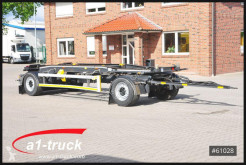 Hüffermann hook arm system trailer HSA 18.70, Luftgefedert, TÜV 05/2021