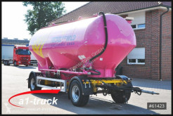 Remorca cisternă transport pulverulent Feldbinder HEUT 31.2, Silo, Futter 3 Kammern TÜV 07/2021