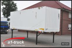 Zariadenie nákladného vozidla karoséria skriňa dodávky Krone 7,45 Wechelbrücke Textil / Koffer , guter Zustand