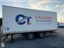 Samro DOS EJES FURGON trailer used box