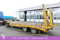 Schwarzmüller TÜ 30/100 / 8300 mm / 25 to nutzlast BLATT RAMPE trailer used heavy equipment transport