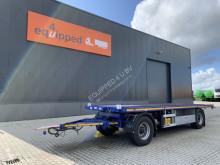 AJK flatbed trailer nieuw, ongebruikt, multifunctioneel, kooiaap-aansluiting, al. planken, Belgische registratie