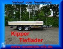 Reboque basculante Möslein Tandem 3- Seitenkipper Tieflader-- Neufahrzeug