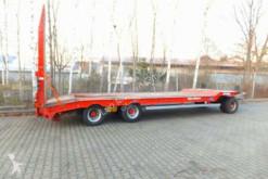 Müller-Mitteltal 3 Achs Tieflader- Anhänger trailer used heavy equipment transport