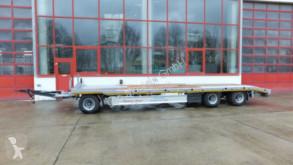 Möslein 3 Achs Plato- Tieflader- Anhänger trailer new heavy equipment transport