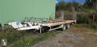 Remolque Gourdon 2 essieux portamáquinas usado