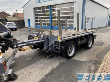 H&W ballast aanhanger trailer used flatbed