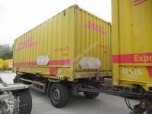 Schmitz Cargobull chassis trailer BDF Anhänger,SAF Scheibe,Luftfederung,Reifen 50%