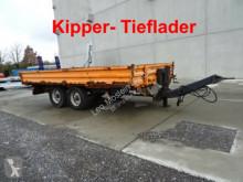 Remolque volquete Müller-Mitteltal Tandemkipper- Tieflader