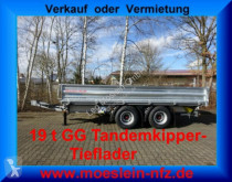 Möslein 19 t Tandem- 3 Seiten- Kipper Tieflader trailer new heavy equipment transport