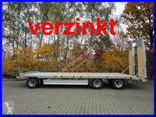 Reboque porta máquinas Möslein 3 Achs Tieflader, Verbreiterung, hydr. Rampen,