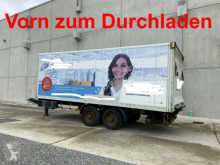 Прицеп Tandemkoffer, Durchladbar + Ladebordwand фургон б/у