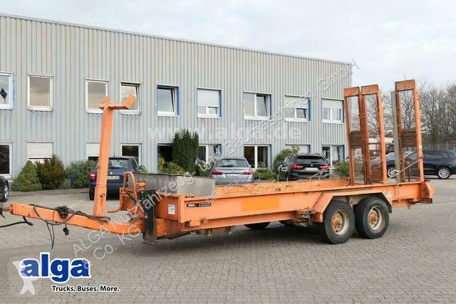 View images Obermaier T 105 SW, 6.000mm lang, Nutzlast 7,6to., Rampen trailer