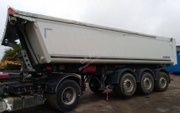 Schmitz Cargobull Gotha trailer damaged tipper