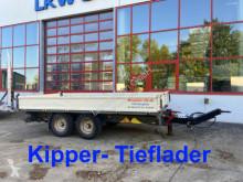 Remolque Möslein 13 t Tandemkipper- Tieflader volquete usado