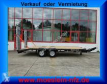 Möslein Neuer Tandemtieflader 13 t GG trailer new heavy equipment transport