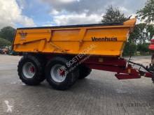 مقطورة زراعية حاوية أحادية الهيكل Veenhuis JVZK 18000