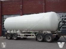 Släp tank 4-axle 42.000L Silo - 6 compartimenten