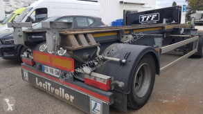 Lecitrailer PORTE CAISSON trailer used hook arm system