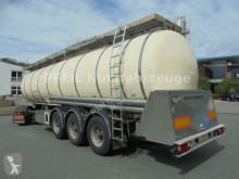 Feldbinder Drucktank- Heizung- Pumpe- 33.000 Liter semi-trailer used food tanker