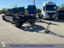 Remorca transport containere Hüffermann * HMA 18.24 * ABROLLANHÄNGER * MERCEDES ACHSEN