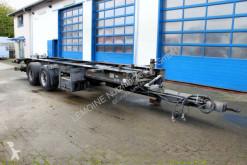 Reboque Lassig LTA 18/7,8 BDF Tandem Wechselanhänger chassis usado