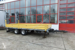 Obermaier 13,5 t Tandemtieflader trailer used heavy equipment transport