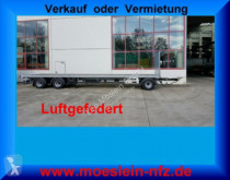 Möslein flatbed trailer 3 Achs Jumbo- Plato- Anhänger 8,60 m, Mega