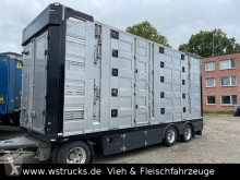 Menke 4 Stock Ausahrbares Dach Vollalu Typ 2 trailer used livestock trailer