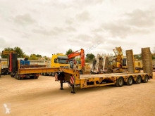 Faymonville 4 ESSIEUX trailer used heavy equipment transport