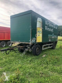 Ackermann PA-F18 trailer used beverage delivery flatbed