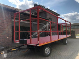 Krone AZ 18 trailer used flatbed