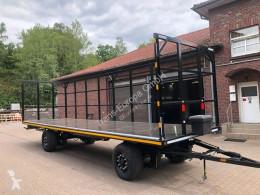 Krone flatbed trailer AZ 18
