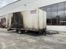Möslein box trailer Tandem- Kofferanhänger, Durchladbar Brandschade