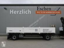 Remolque caja abierta teleros Kögel ANBS 18 Anhänger Pritsche offen, BPW, Scheiben