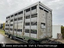 Remorca remorcă transport animale Köpf 3 Stock 8,00m