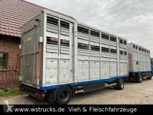 无公告全挂车 Lafaro Doppelstock Durchladen 牲畜拖车 二手