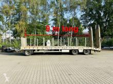 Remolque portamáquinas 3 Achs Tiefladeranhänger 9 m Ladelänge