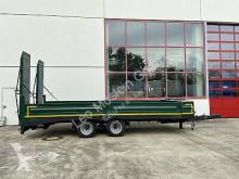 Blomenröhr 14 t Tandemtieflader, wenig Benutzt trailer used heavy equipment transport