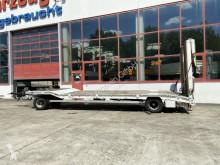 Goldhofer 2 Achs Tiefladeranhänger, 2 teiligen Rampen trailer used heavy equipment transport