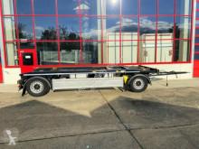 Hüffermann 2 Achs Abrollmulden- Anhänger, Wenig Benutzt trailer used container