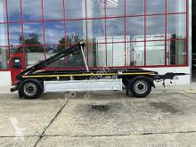 Hüffermann 2 Achs Kippbarer Abrollmuldenanhänger-- Wenig B trailer used container