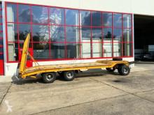 Langendorf全挂车 3 Achs Tiefladeranhänger 机械设备运输车 二手