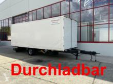 Möslein 1 Achs Kofferanhänger zum Durchladen trailer used box